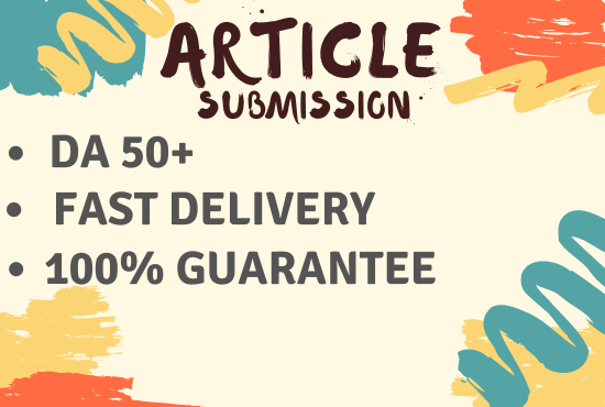 32 Article Submission in very affordable price