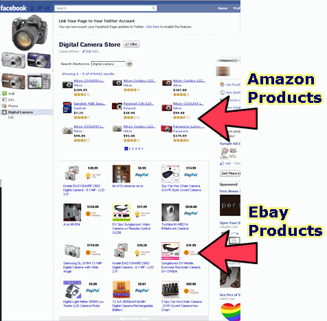 Facebook Store Generator For Marketplaces Such As Amazon And Ebay