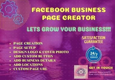 I Will Develop The Facebook Business Page