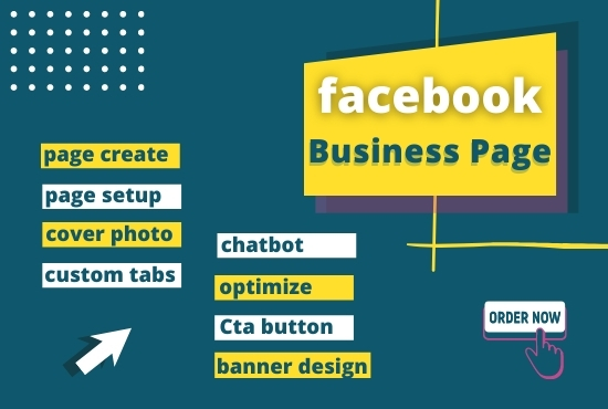 I will generate for you an impressive Facebook business page with SEO Optimization.