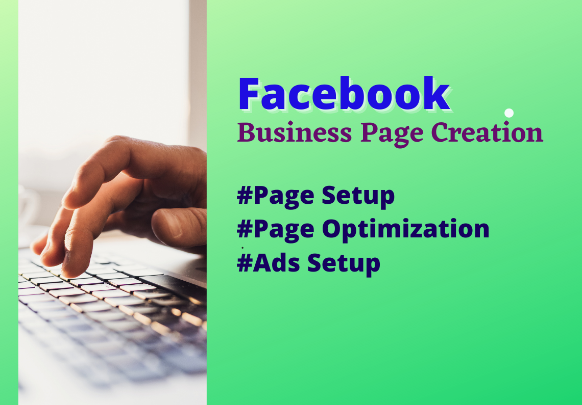 I will set up and design facebook business page professionally.