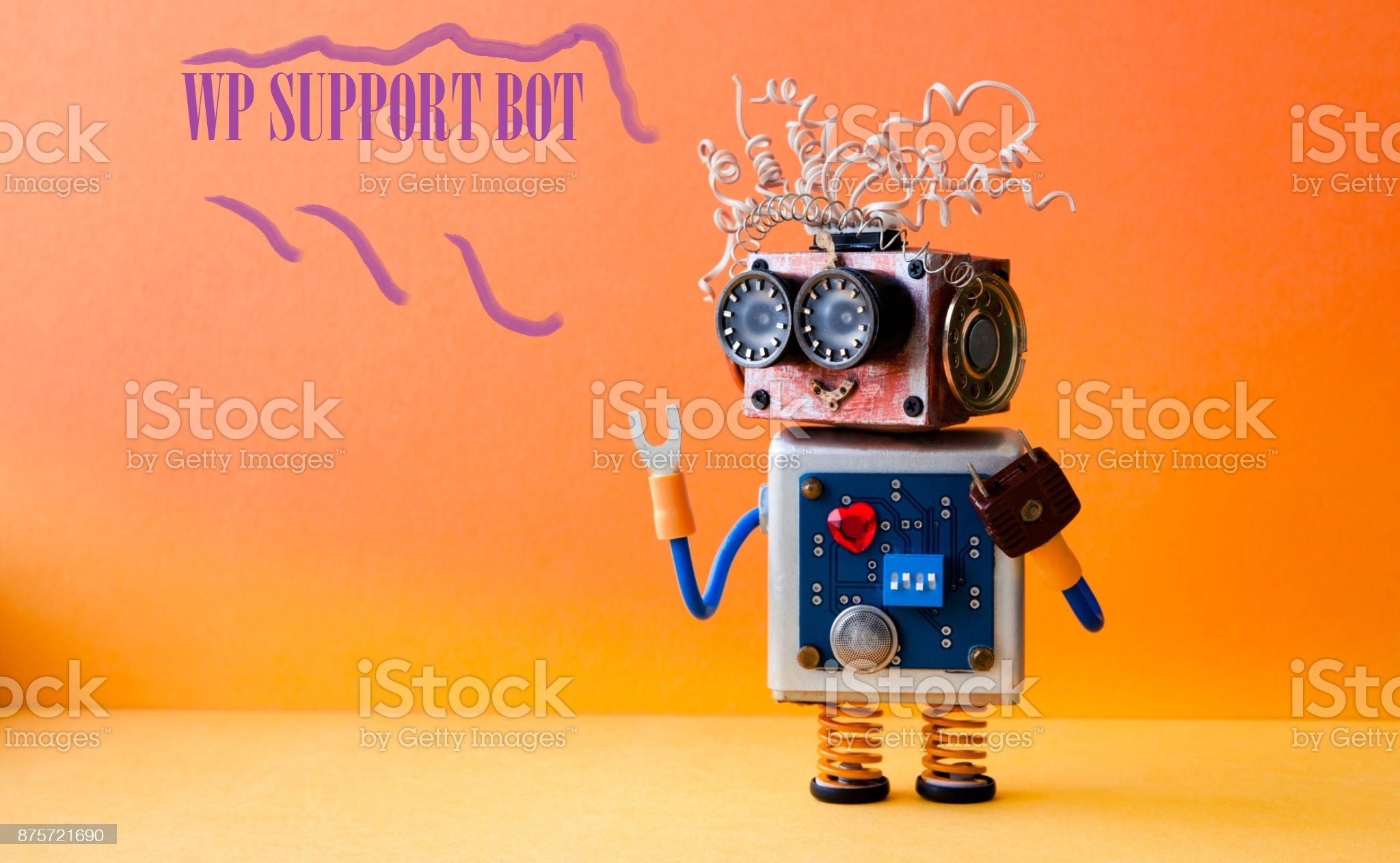 WP Support bot make visitor easier contact to you