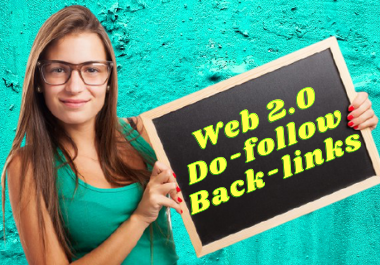 Do manually 50 high DA PA web2 0 Backlinks