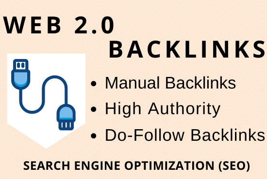 I will build 50 high authority web 2.0 backlinks