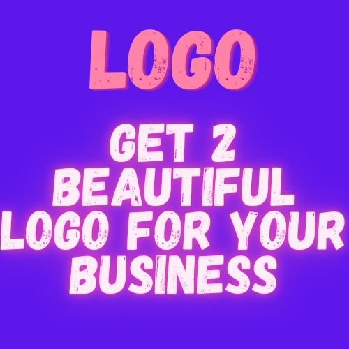 I wii give you 2 beautiful logo