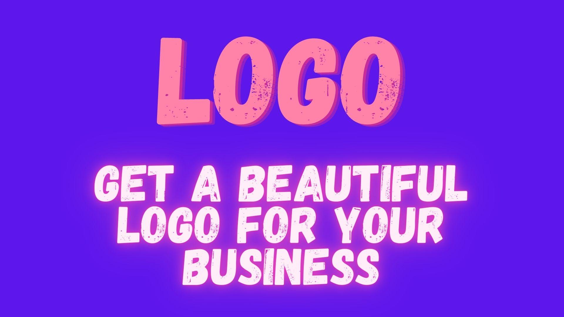 I wii give you a beautiful logo