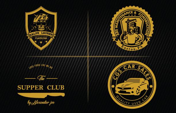 I will design unique modern retro vintage logo