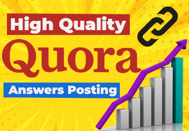 I will Provide 30 Quora answers with clickable Backlink