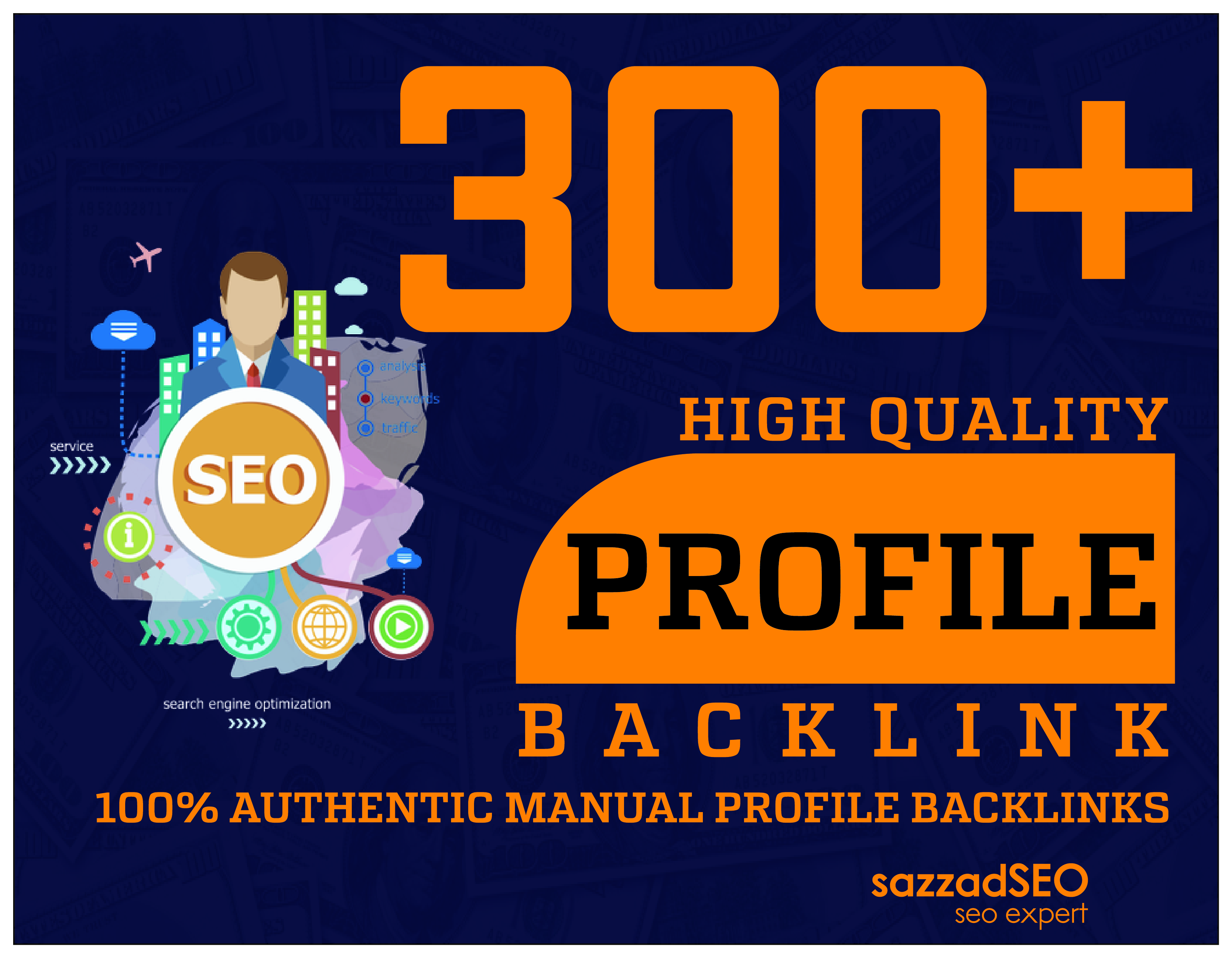 I will create 300+ Manually & Quality Strong Forum & Social Net Profile Backlinks Ranking On Google