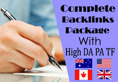 Indexable Dofollow High Quality Complete Backlinks Package 2021