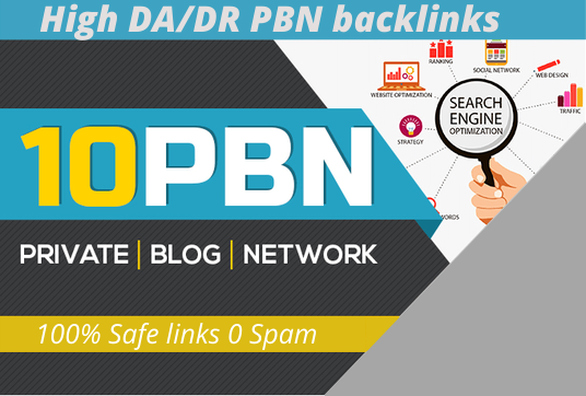 10 PBN links DA50 or DR30 high quality PBN backlink