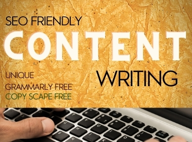 I will write SEO Friendly Content for your website or blog