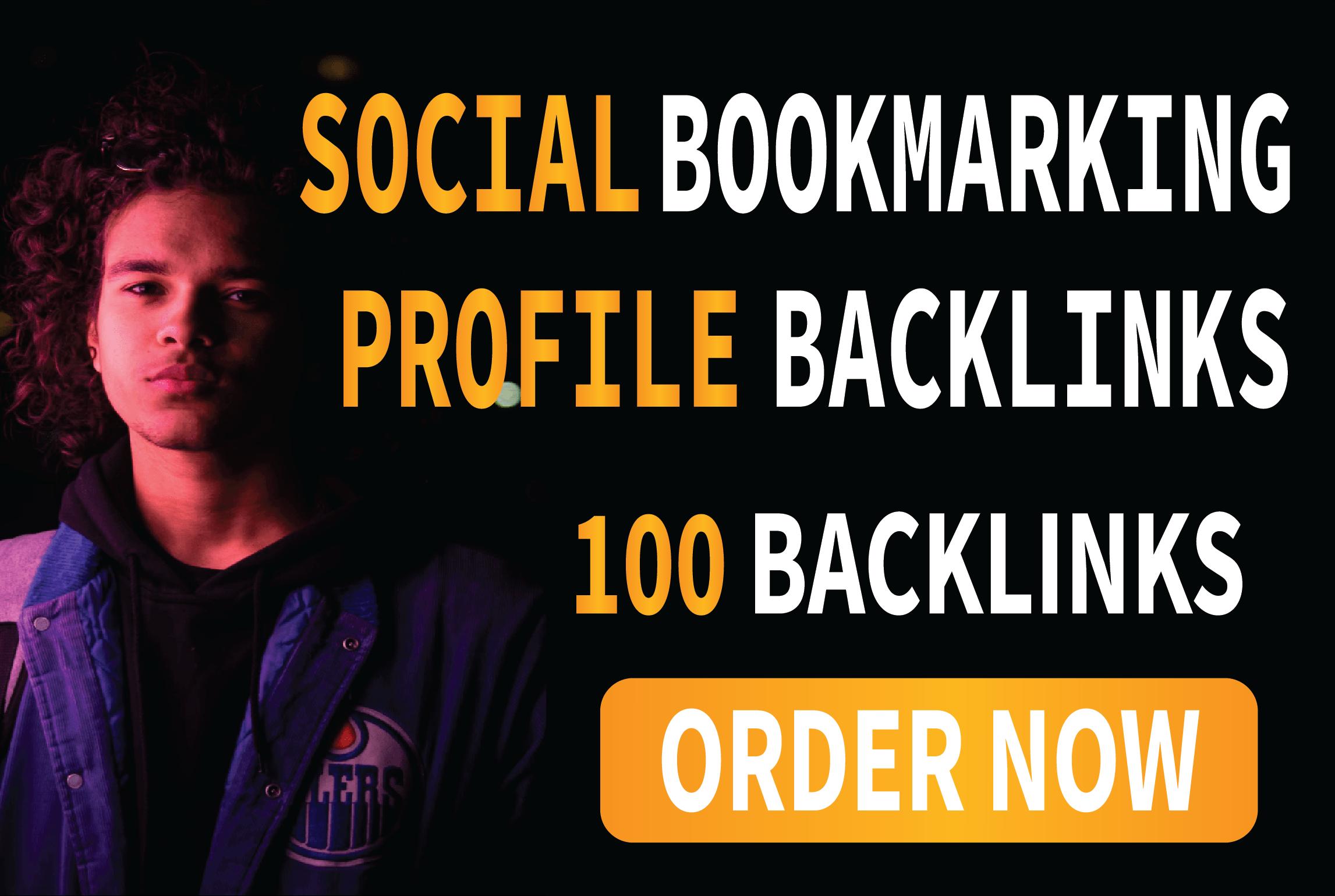 I will do 300 social bookmarking SEO profile backlinks