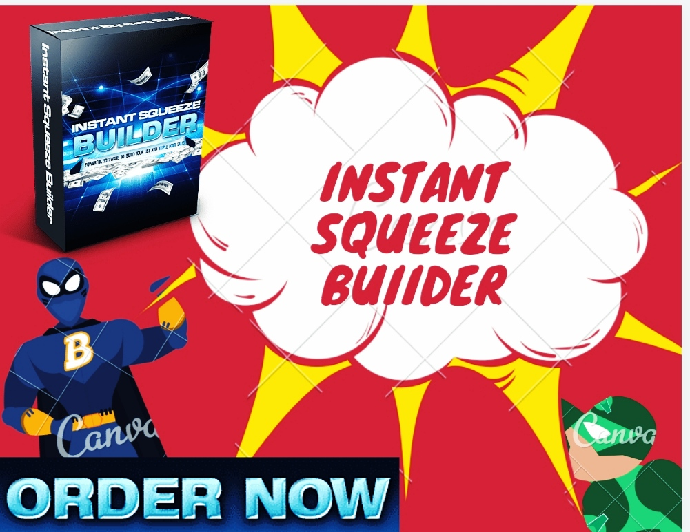 Instant squeeze builder- Make lots of squeeze + landing pages for your website + get more traffic