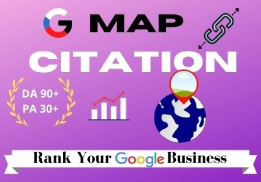 I Will do 200+ Google Map Citations With Add Driving Directions For Local Business,  SEO