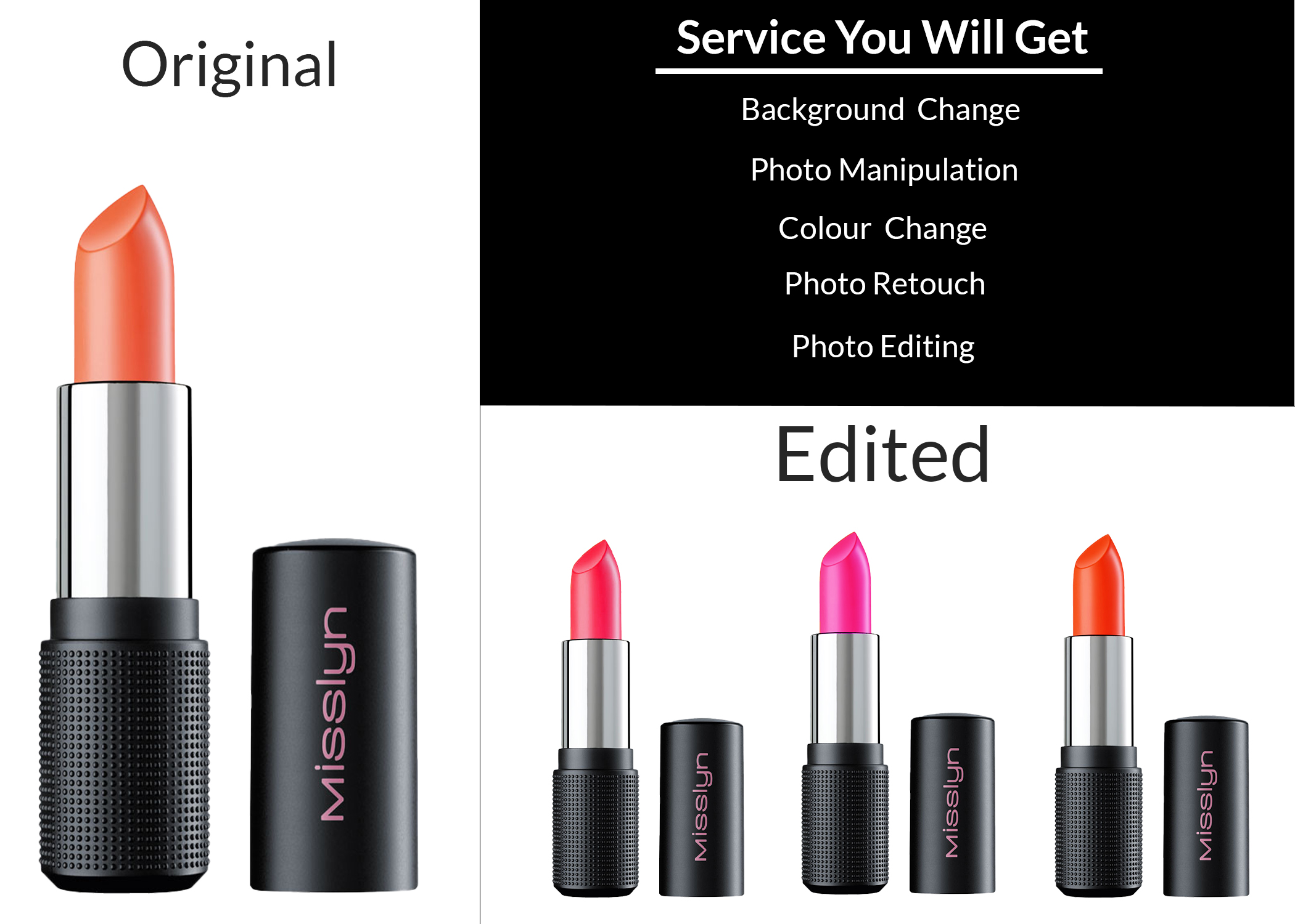 I will do skin retouching,  photo editing and product photos editing