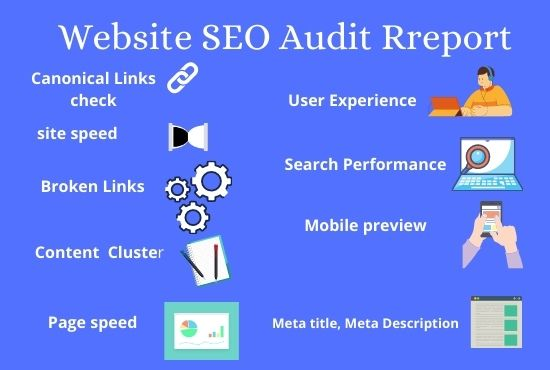 I will do technical website SEO audit report with action plan