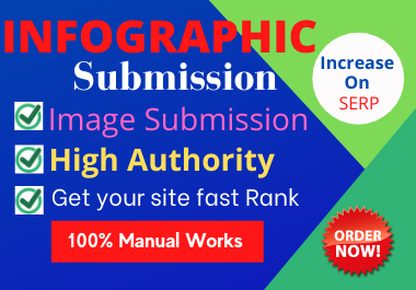 30 Manually Infographic or image Submission High authority website natural backlinks link building