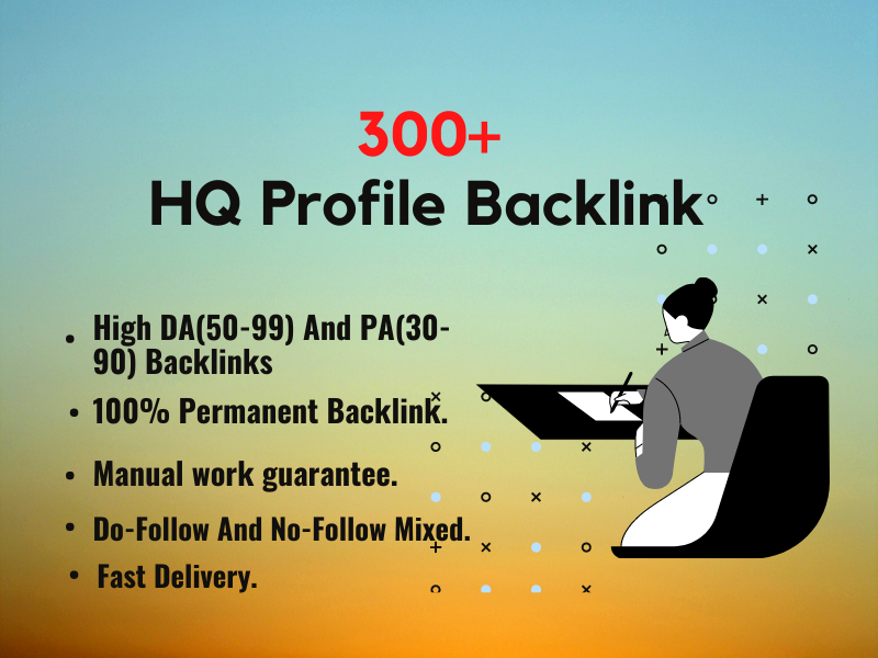 300+ High Authority SEO Profile Backlinks. Buy 3 And GET 1 FREE.