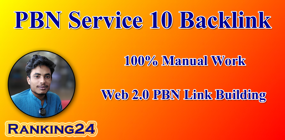 I will create 10 permanent pbn back links all dofollow links