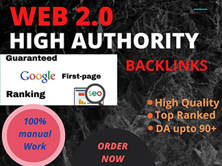 Boost your Rank to first page with 1000 web 2.0 blog highest Quality and most effective links