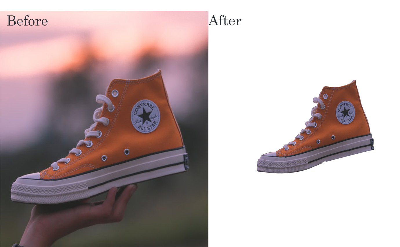 Background Remove from product and picture