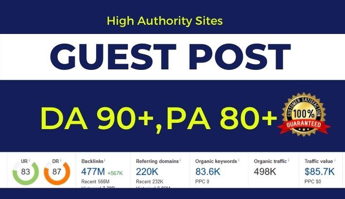 Publish Authority Guest Post on high DA 90+ website Medium/LinkedIn/LiveJournal