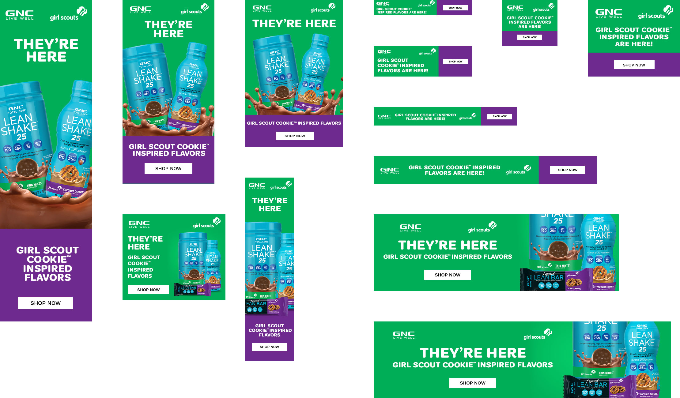 Promotional and Advertising BANNER ADS Design
