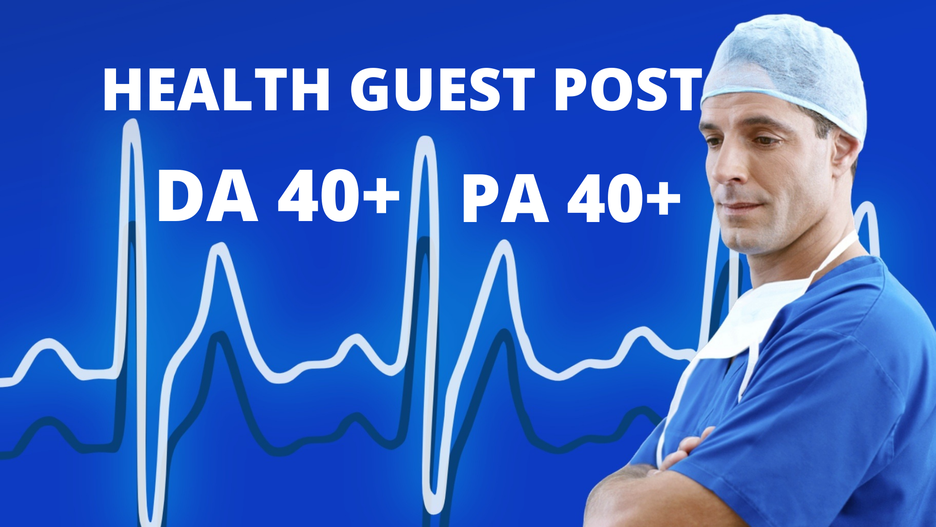 I will do guest post on health blog