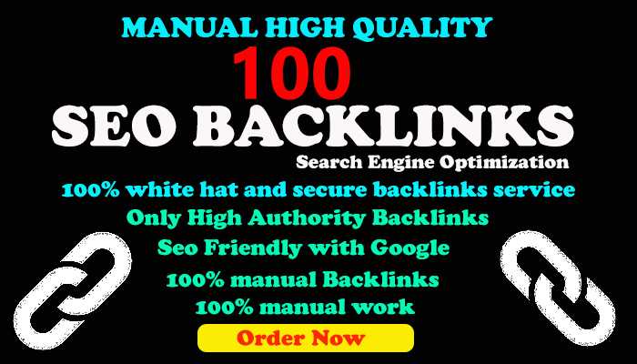 I Will Do Manually 100 High-Quality Seo Backlinks for your website Increasing Google Ranking.