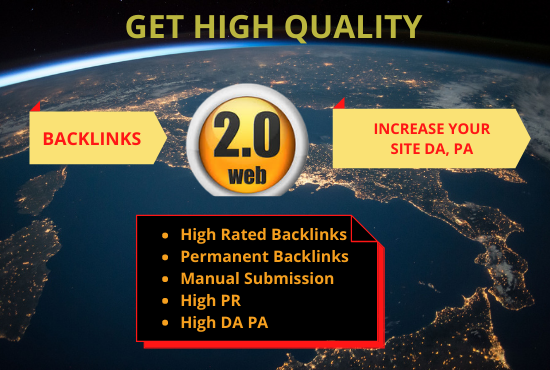 I Will Create 30 High Quality Web 2.0 Backlinks
