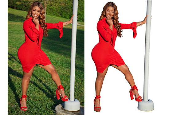 I will Photoshop editing background removal fashion,  clothing photo