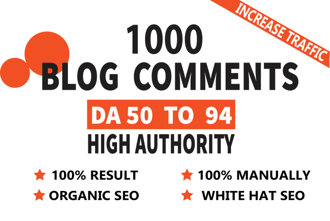 Get 1000 High Quality Blog Comments