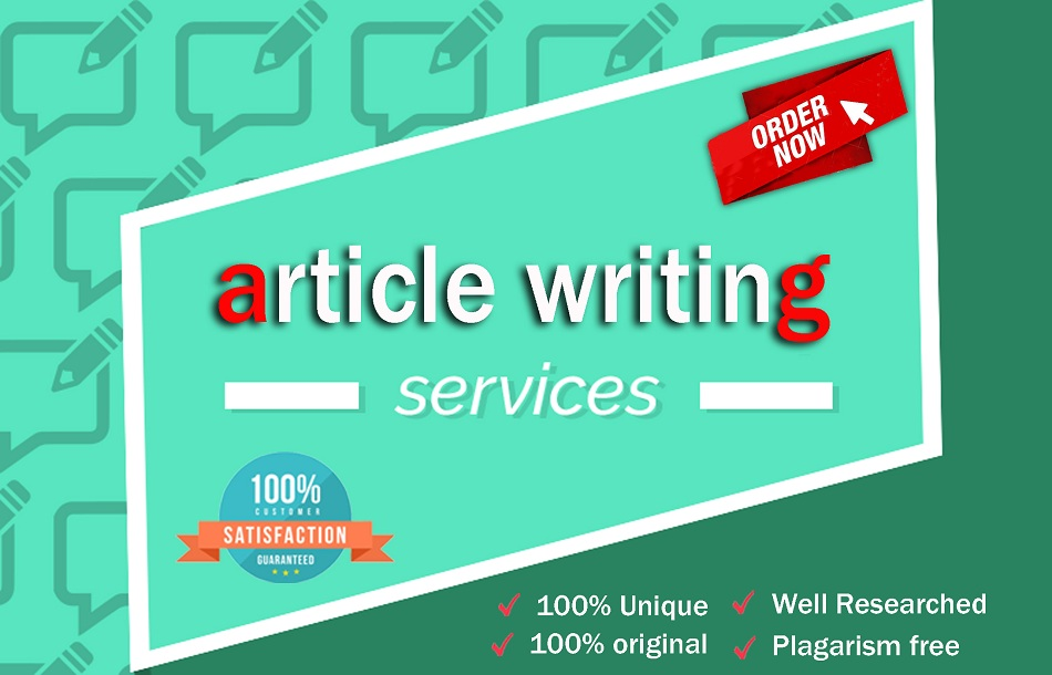 I will write the most creative and engaging articles.