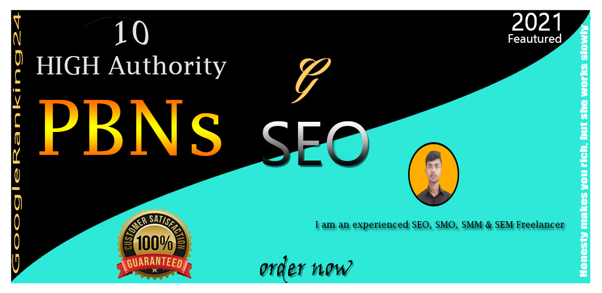 GET Permanently 10 HIGH Authority PBNs BackLinks On Home Page