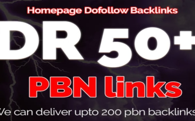 I will build DR 50 white hat manual seo backlinks