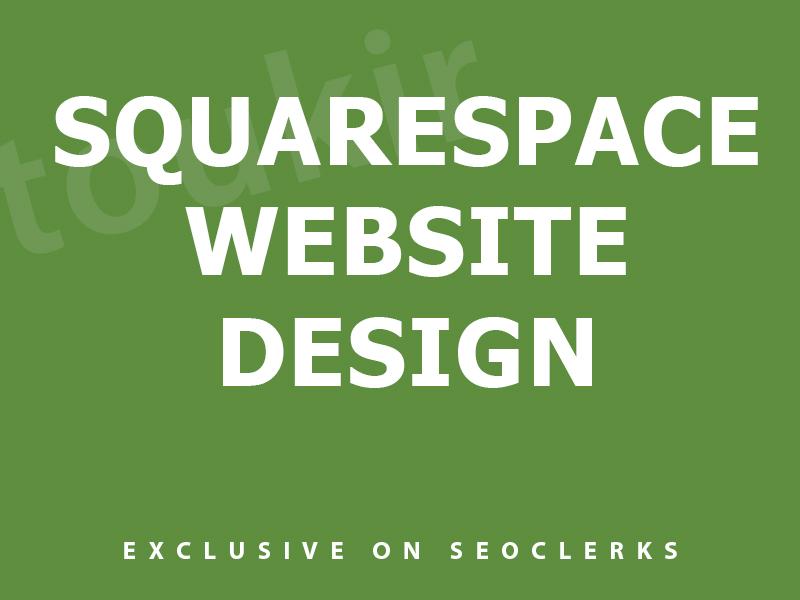 I will do pro squarespace website design or squarespace redesign