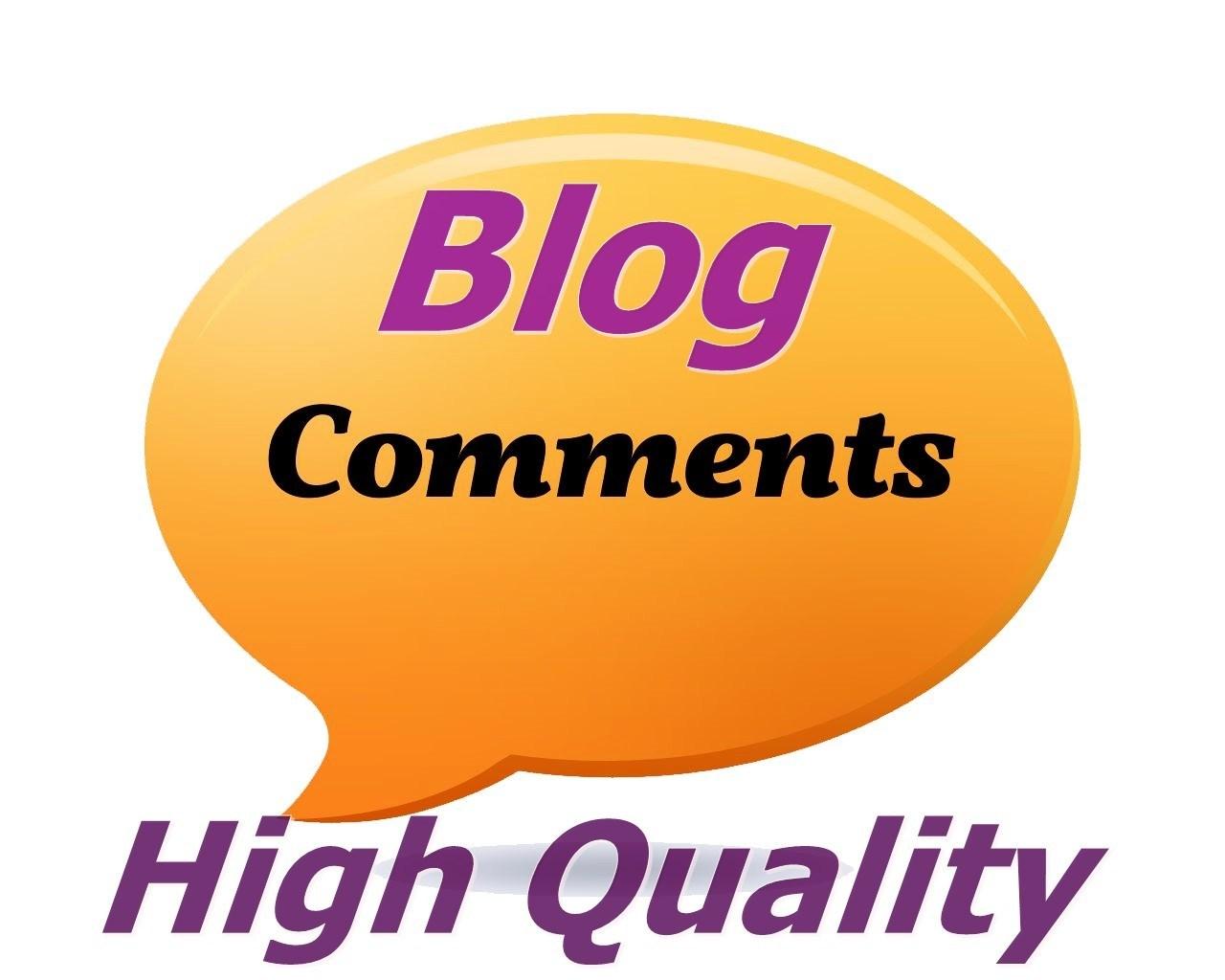 I will provide 100 Do follow blog comment for seo backlinks