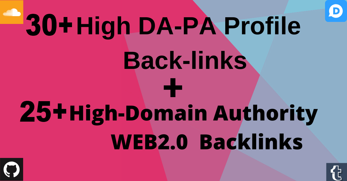 Two in One Create 60 Backlinks,  Web2,  Profile To Rank You on Google