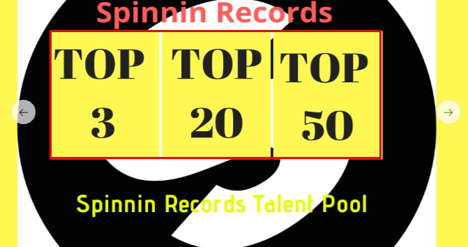 HQ 100 Spinning records talent pool votes on your contest
