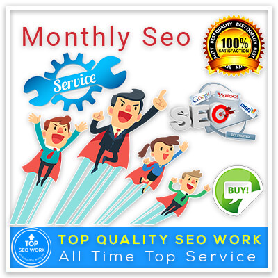 I will provide complete monthly SEO service with quality backlinks