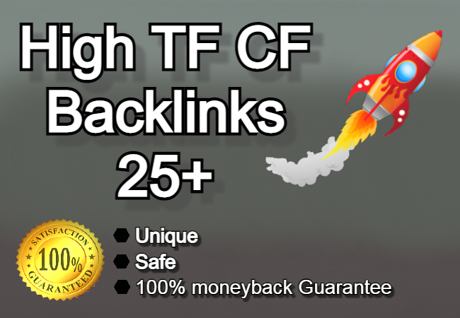 I will increase Majestic trust flow TF 25+ for affordable rates