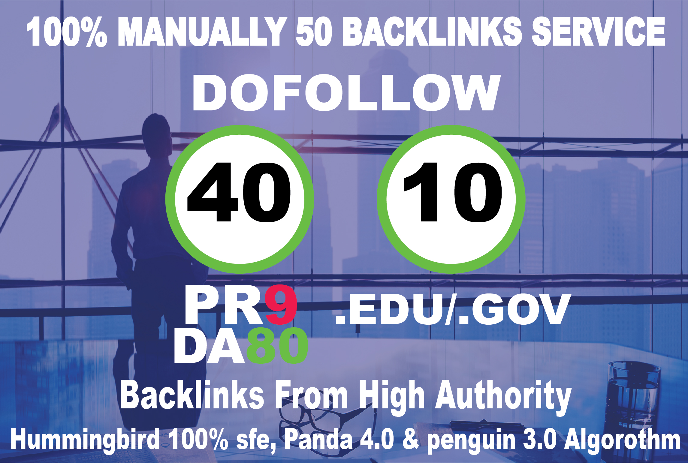 MASSIVE AUTHORITY 50 HIGH QUALITY 40 PR9 + 10 EDU. GOV Backlink For Improve Google Ranking