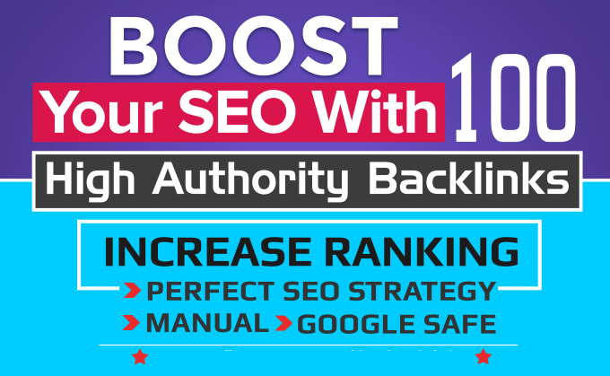 Boost Your Website SEO With 100 High Quality Unique Backlink For Increasing Google Ranking