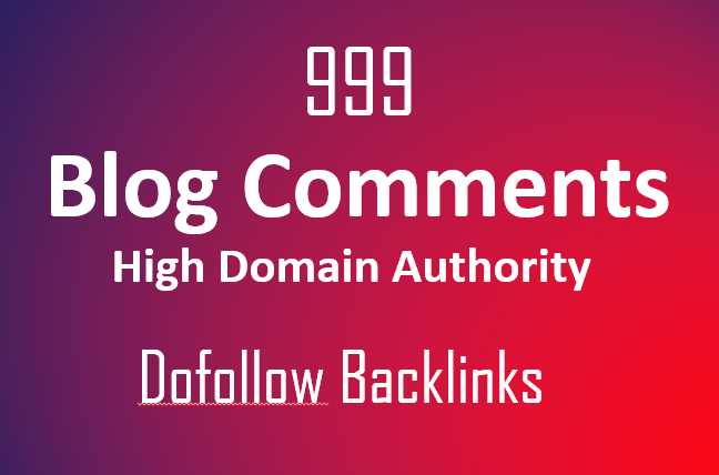 Manually Create 999 dofollow blog comments backlinks