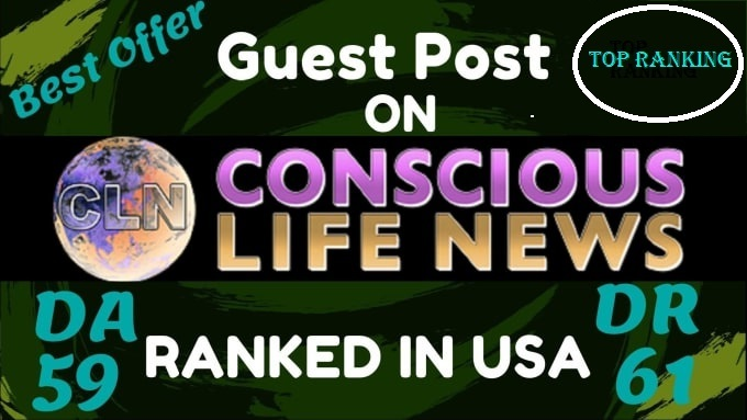 guest post on consciouslifenews USA ranked health blog