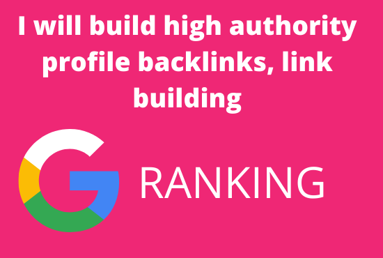 I will build 100+ high authority profile backlinks SEO for 5