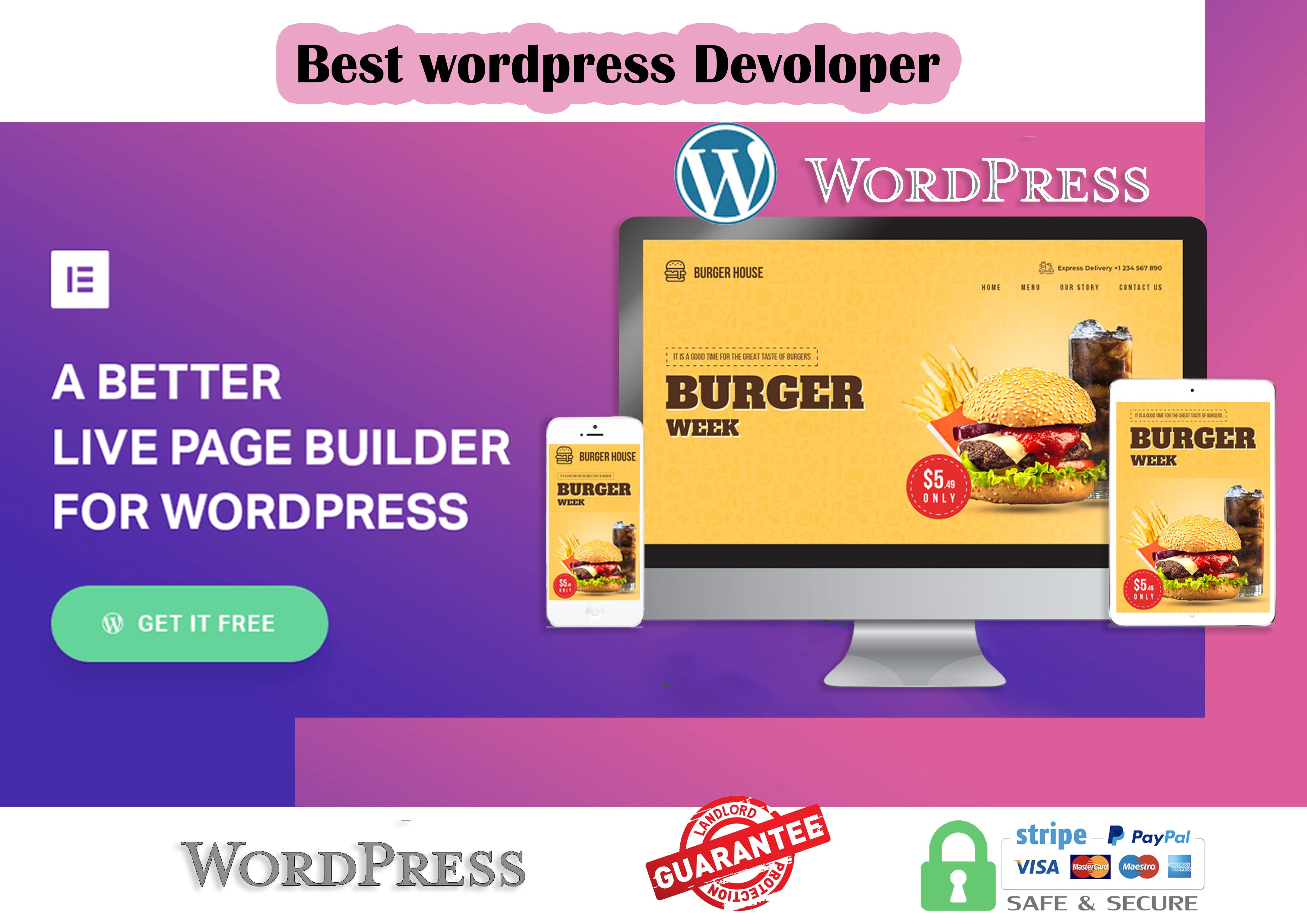 I will Create your website as you Wish.
