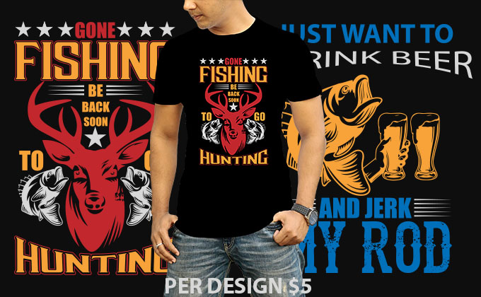 I will do creative typography t-shirt design for teespring