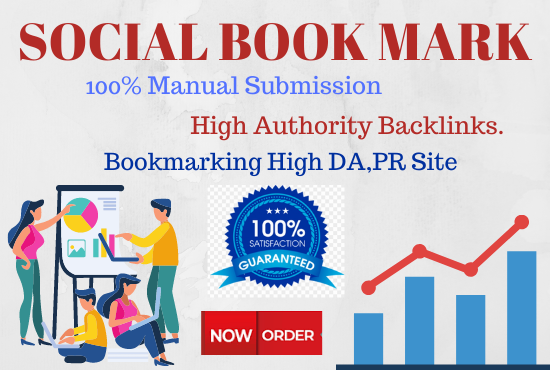 25 Social Bookmarking High authority Backlinks must rank your website permanent
